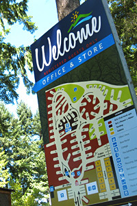 Westwood Lake Rv/Camping & Cabins accommodations